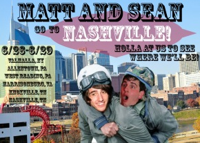 Matt & Sean Go To Nashville – Acoustic Promo Tour